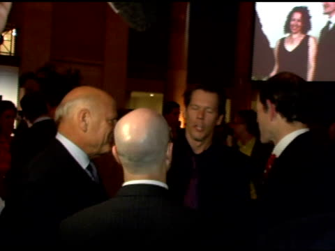 barry diller, kevin bacon and eliot spitzer at the friends of the high line 6th annual summer benefit at cipriani wall street in new york, new york... - barry diller stock videos & royalty-free footage