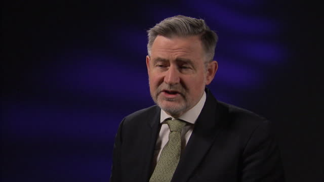 Barry Gardiner saying the divide within the Conservative party will make it 'very difficult' to negotiate with the EU over Brexit