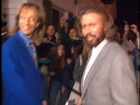 Barry Gibb at the Polygram Grammy Party at Chasens