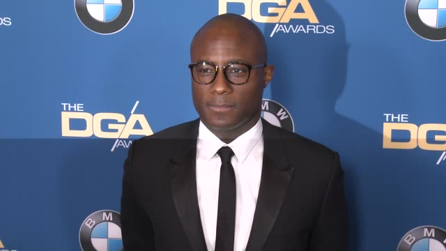 barry jenkins at 69th annual directors guild of america awards in los angeles ca - directors guild of america awards stock videos & royalty-free footage