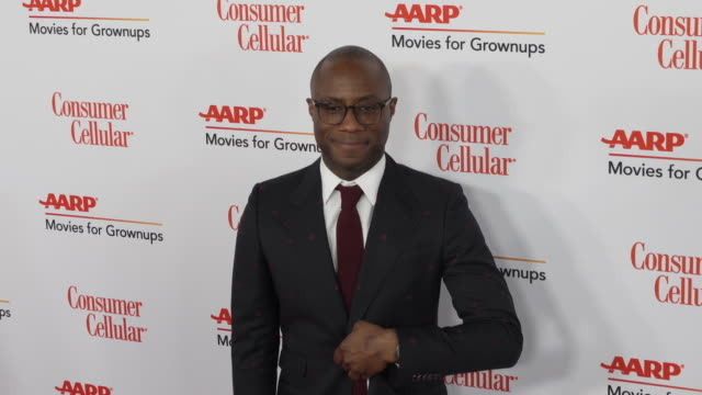 barry jenkins at the 18th annual movies for grownups awards at the beverly wilshire four seasons hotel on february 04, 2019 in beverly hills,... - フォーシーズンズホテル点の映像素材/bロール