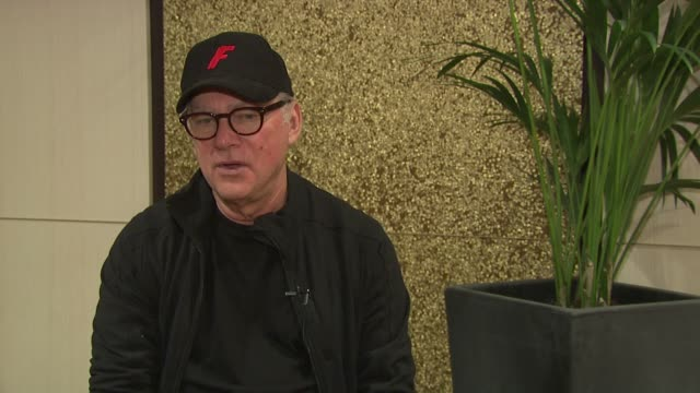barry levinson on his requirements for casting john gotti jr, his cameo appearance in 'rain man' at the gotti: three generations interview: 64th... - cameo brooch stock videos & royalty-free footage