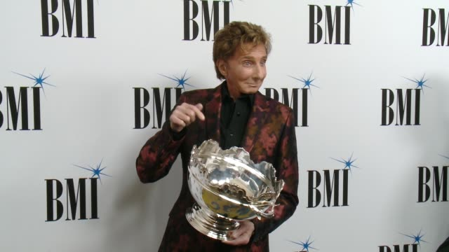 barry manilow at 65th annual bmi pop awards in los angeles, ca 5/9/17 - barry manilow stock videos & royalty-free footage