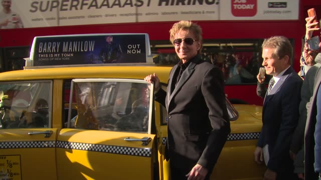 barry manilow at hmv oxford street on april 26, 2017 in london, england. - barry manilow stock videos & royalty-free footage
