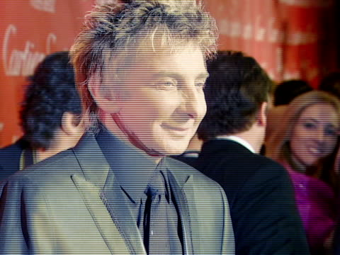 Barry Manilow at the 2008 Palm Springs International Film Festival Hosts StarStudded Awards Gala Presented By Cartier Red Carpet Arrivals at Palm...