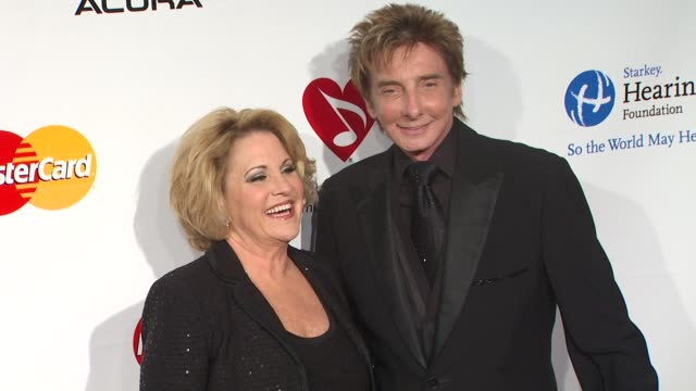 barry manilow at the 2011 musicares person of the year honoring barbara streisand at los angeles ca. - barry manilow stock videos & royalty-free footage