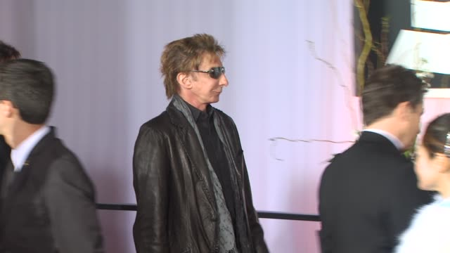 barry manilow at the 53rd grammy awards - arrivals part 3 at los angeles ca. - barry manilow stock videos & royalty-free footage