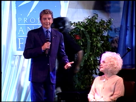 barry manilow at the project angel food angel awards on july 10, 1999. - barry manilow stock videos & royalty-free footage