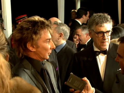 barry manilow elliott gould at the 2008 palm springs international film festival hosts starstudded awards gala presented by cartier red carpet... - elliott gould stock videos & royalty-free footage
