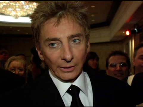 barry manilow on the performance at the 'barry manilow: music and passion' opening night at the las vegas hilton hotel in las vegas, nevada on... - barry manilow stock videos & royalty-free footage