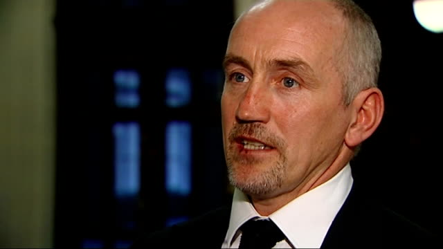int barry mcguigan interview sot don't think we'll see his like again / he was unique and one off - harry carpenter bildbanksvideor och videomaterial från bakom kulisserna