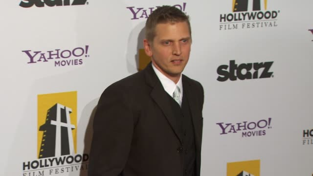 barry pepper at the 14th annual hollywood awards gala at beverly hills ca - barry pepper stock videos & royalty-free footage