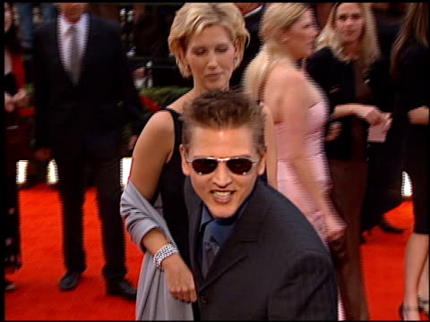 barry pepper at the 2000 screen actors guild sag awards arrivals at the shrine auditorium in los angeles california on march 12 2000 - barry pepper stock videos & royalty-free footage