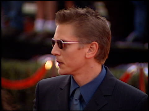 barry pepper at the 2000 screen actors guild sag awards arrivals at the shrine auditorium in los angeles, california on march 12, 2000. - shrine auditorium stock videos & royalty-free footage