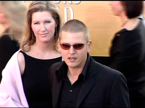 barry pepper at the 2005 screen actors guild sag awards arrivals at the shrine auditorium in los angeles california on february 5 2005 - barry pepper stock videos & royalty-free footage