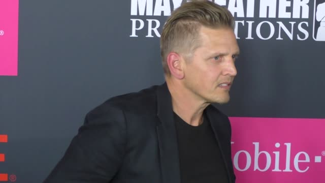 barry pepper at the floyd mayweather jr vs conor mcgregor bout preevent vip party magenta carpet on august 26 2017 in las vegas nevada - barry pepper stock videos & royalty-free footage