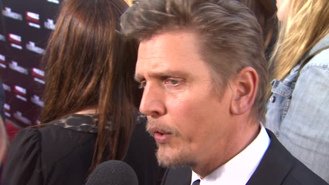 barry pepper at the the reelzchannel world premiere of 'the kennedys' at beverly hills ca - barry pepper stock videos & royalty-free footage