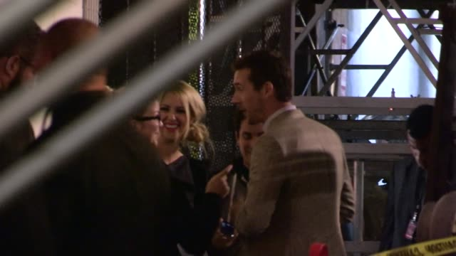 vidéos et rushes de barry sloane greets fans at the henry fonda theatre in hollywood, 04/13/13 - henry fonda theatre