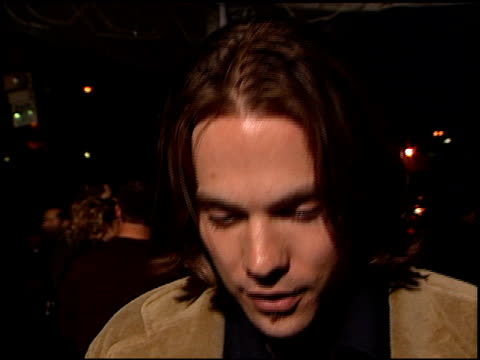 barry watson at the 'go' premiere at the cinerama dome at arclight cinemas in hollywood, california on april 7, 1999. - arclight cinemas hollywood stock videos & royalty-free footage