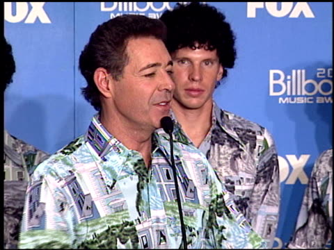 Barry Williams at the 2000 Billboard Music Awards press room on December 5 2000