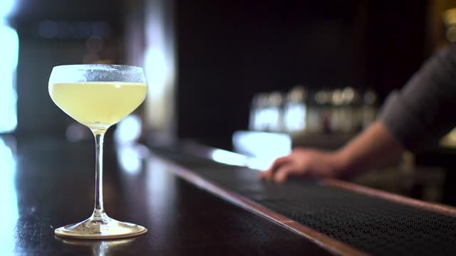 bartender making a fancy margarita - margaritas stock videos and b-roll footage
