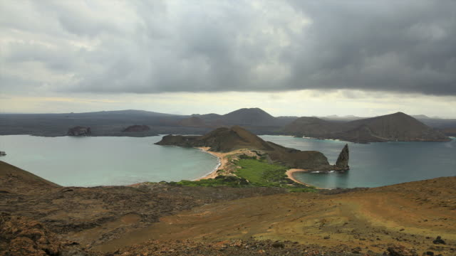 bartolome timelapse galapagos islands. ecuador - galapagos islands stock videos & royalty-free footage