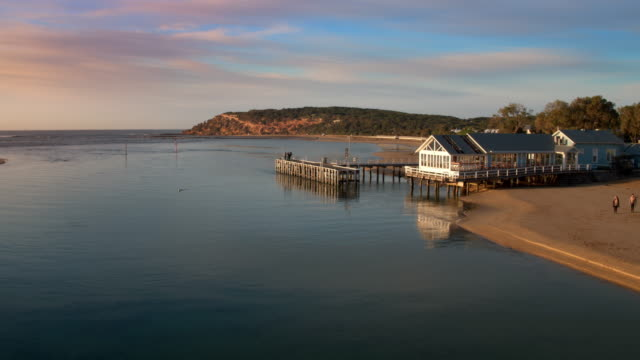 barwon heads coastline, bellarine peninsula, victoria, australia - great ocean road stock videos & royalty-free footage