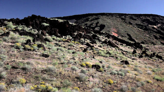 Basalt outcroppings in Utah
