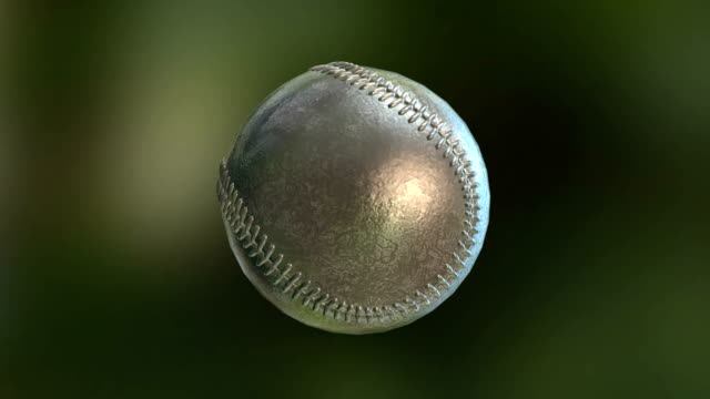 baseball ball rotate glass texture - hitting stock videos and b-roll footage