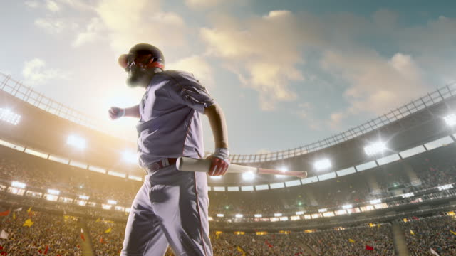 baseball express positive emotionen - baseballspieler stock-videos und b-roll-filmmaterial