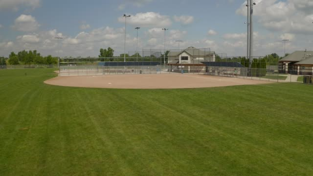 baseball field - baseball diamond stock videos and b-roll footage