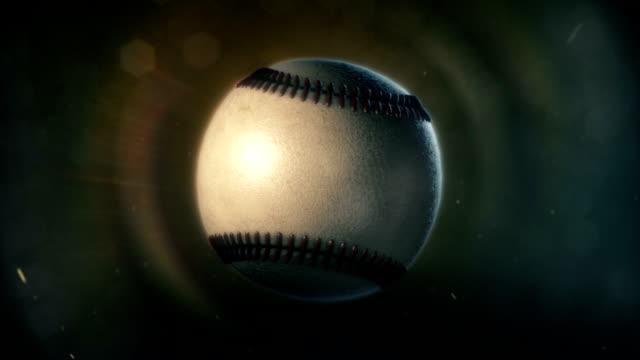 Baseball in Epic Lighting