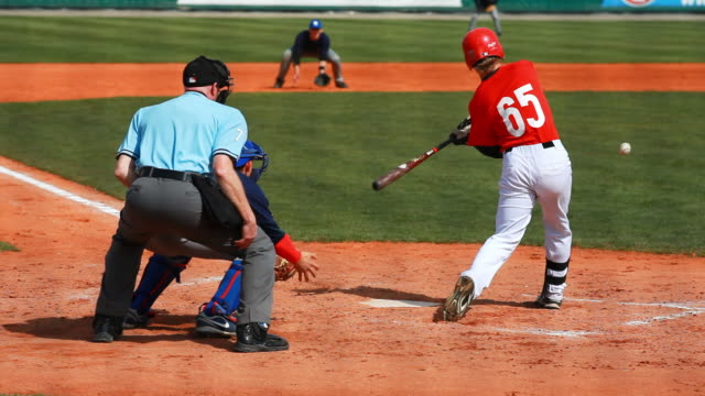 baseball infield scene - batting stock videos & royalty-free footage