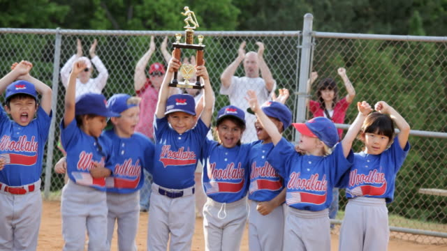ms pan baseball little league champions / richmond, virginia, united states  - baseball sport stock videos & royalty-free footage