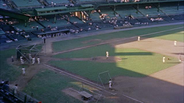 ws baseball stadium / washington d.c., united states - baseballmannschaft stock-videos und b-roll-filmmaterial