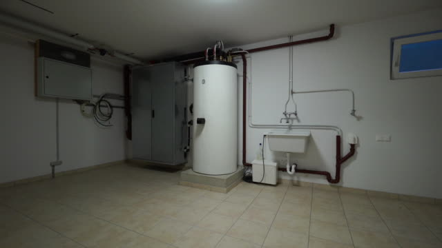 basement of house