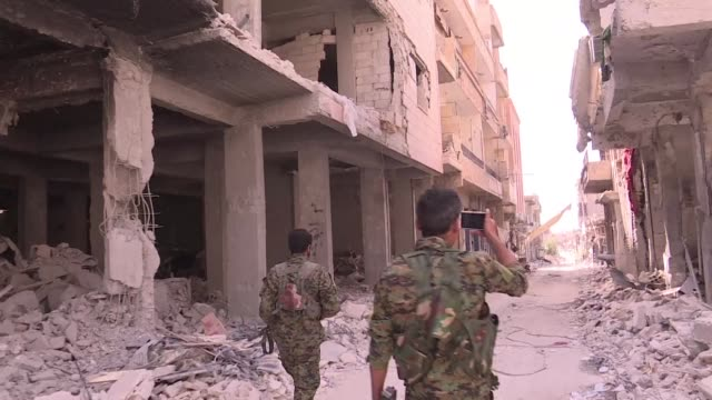 bashar hammoud thought he knew his native raqa like the back of his hand but a monthslong offensive against the islamic state group has scarred the... - syrian democratic forces stock videos & royalty-free footage