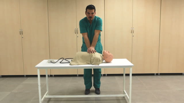 basic life support - cpr stock videos & royalty-free footage