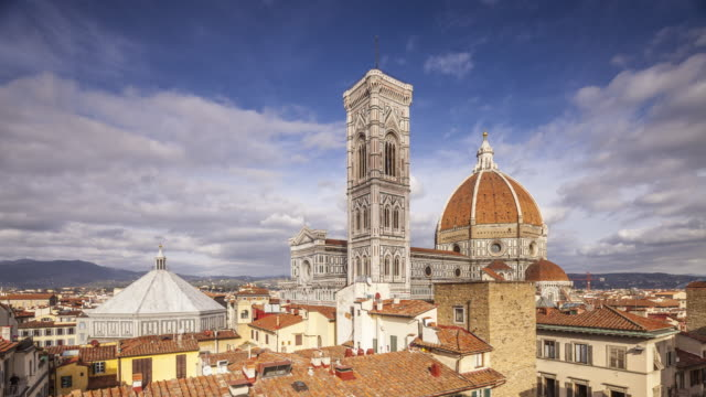 Basilica di Santa Maria del Fiore otherwise known as the Duomo in Florence, Tuscany, Italy.