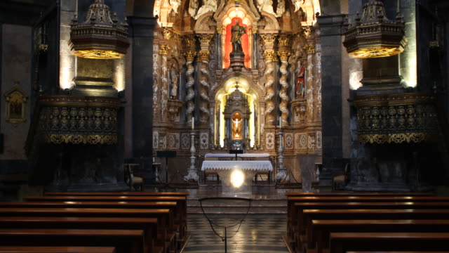 basilica of loyola, spain - christianity stock videos & royalty-free footage