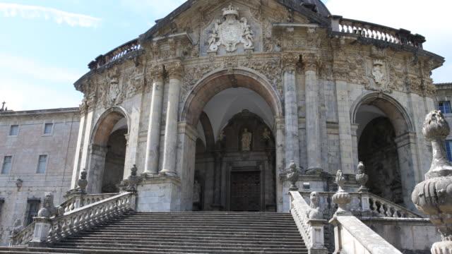 basilica of loyola - baroque stock videos & royalty-free footage
