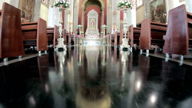 basilica of our lady of guadalupe,méxico - facade stock videos & royalty-free footage