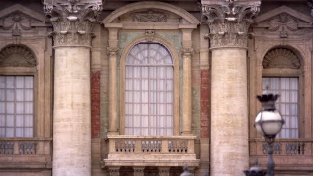 basilicia balcony - balkon stock-videos und b-roll-filmmaterial