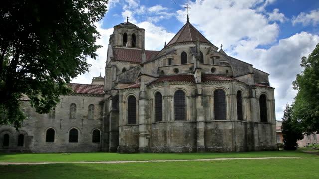 Basilique Sainte-Marie-Madeleine in Vezelay, France.