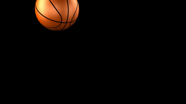 basketball bouncing hd - moving down stock videos & royalty-free footage