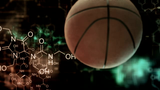 basketball chemistery - human muscle stock videos & royalty-free footage