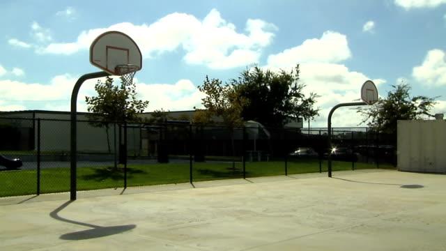 バスケットボールコート - スポーツコート点の映像素材/bロール