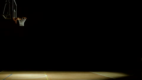basketball court - sports court stock videos & royalty-free footage