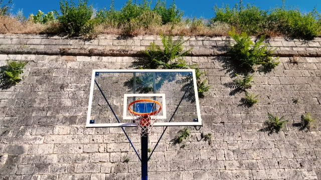 basketball game at the park - record breaking stock videos & royalty-free footage