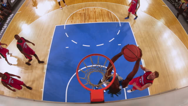 ld basketball hoop and player shooting and scoring - basketball player stock videos & royalty-free footage